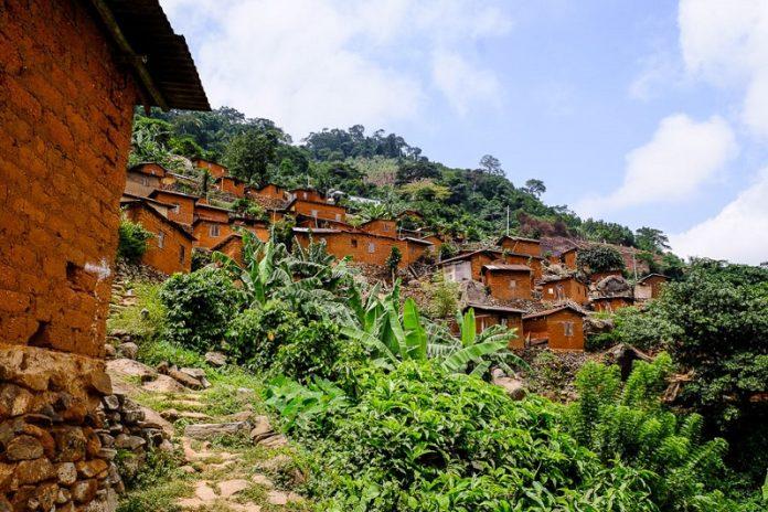 région des plateaux-Togo