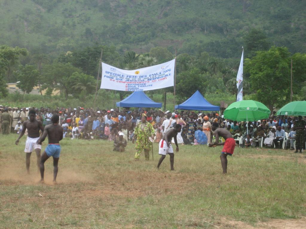La cérémonie des Evalas-togo