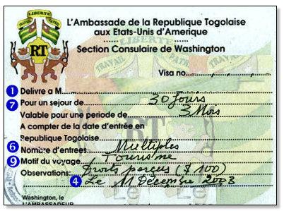 visa-Togo