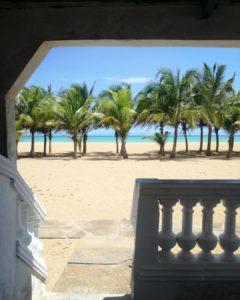 aneho plage cocotier et sable chaud